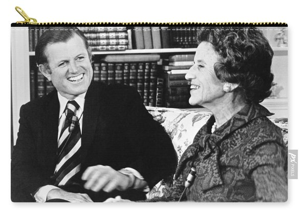 Edward And Rose Kennedy Carry-all Pouch