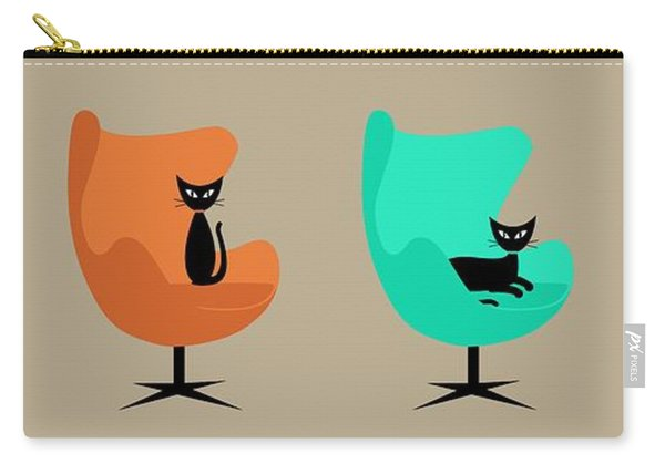 Egg Chairs Carry-all Pouch