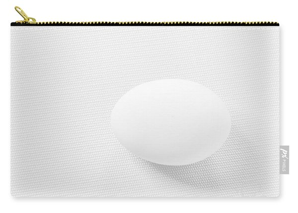 Egg On White Tablecloth Carry-all Pouch