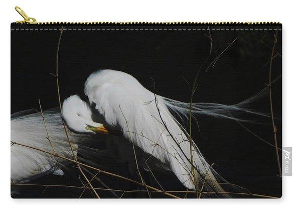 Egret Bird City At Avery Island Louisiana Carry-all Pouch