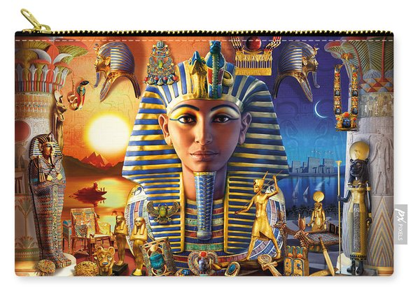 Egyptian Treasures II Carry-all Pouch