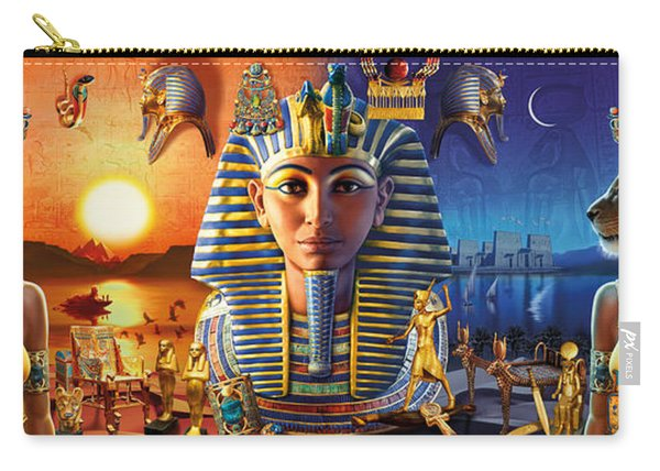Egyptian Triptych 2 Carry-all Pouch