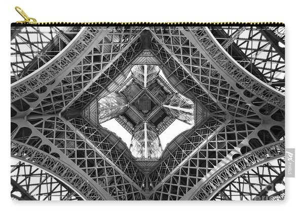 Eiffel Abstract Carry-all Pouch