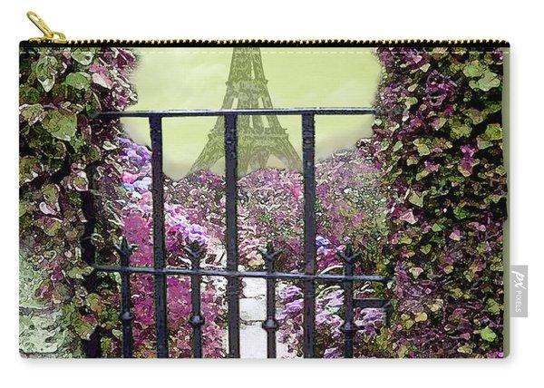 Eiffel Garden Carry-all Pouch