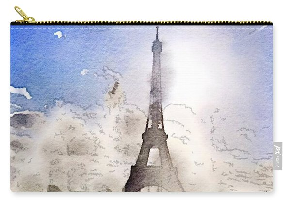 Eiffel During Summer Carry-all Pouch