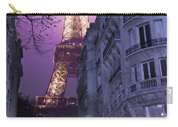 Eiffel Tower From A Side Street Carry-all Pouch