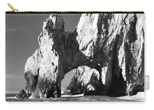 El Arco In Black And White Carry-all Pouch