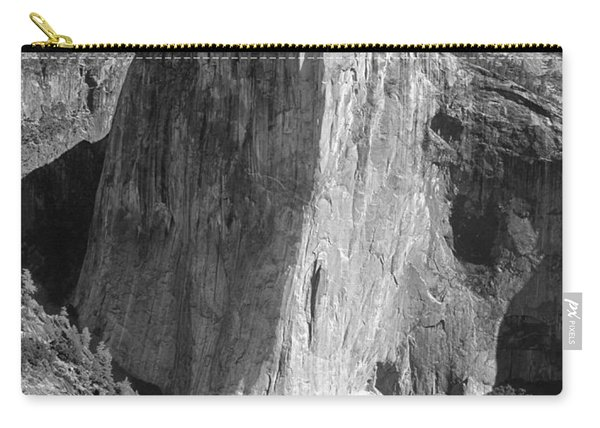 106663-el Capitan From Higher Cathedral Spire, Bw Carry-all Pouch
