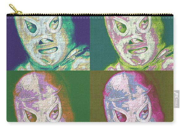 El Santo The Masked Wrestler Four 20130218 Carry-all Pouch