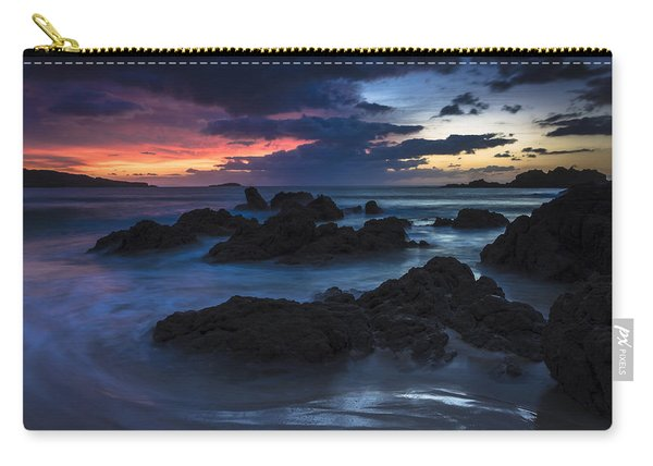 El Villar Beach Galicia Spain Carry-all Pouch