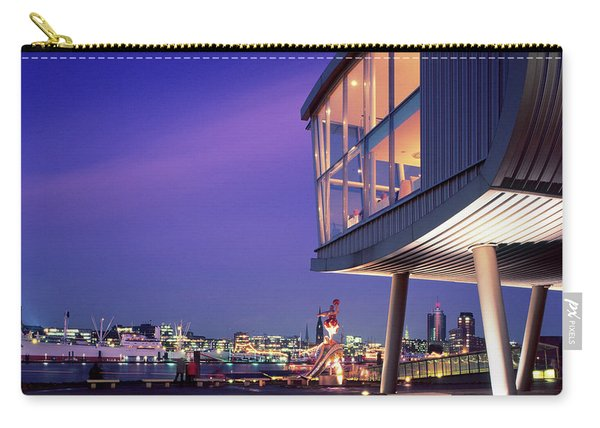 Elbe River With Waterfront Skyline Carry-all Pouch