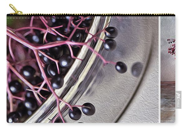 Elderberry Carry-all Pouch