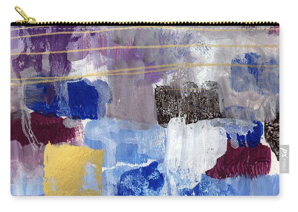 Elemental- Abstract Expressionist Painting Carry-all Pouch