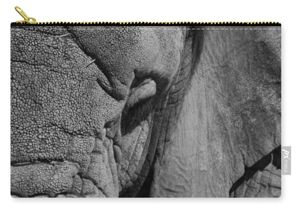 Elephant Bw Carry-all Pouch