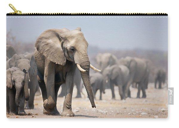 Elephant Feet Carry-all Pouch