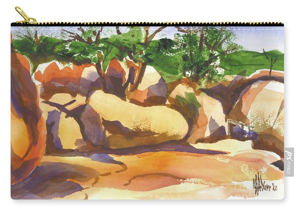 Elephant Rocks Revisited I Carry-all Pouch