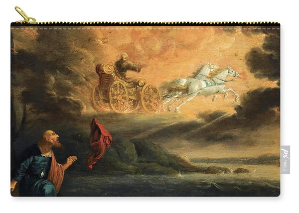 Elijah Taken Up Into Heaven In The Chariot Of Fire Carry-all Pouch