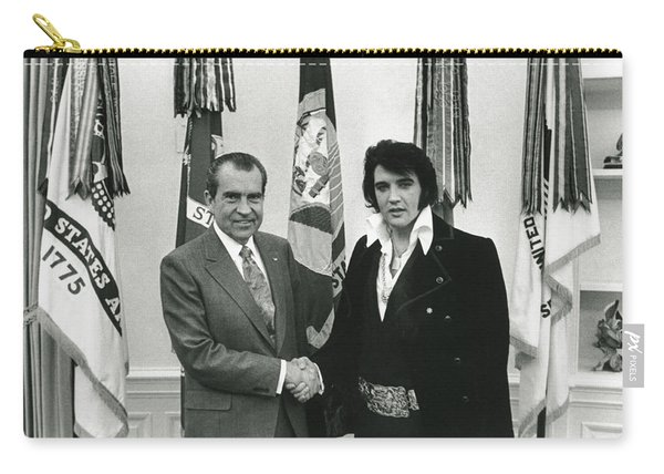 Elvis And Nixon Carry-all Pouch