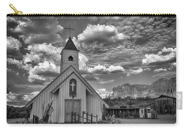 Elvis Presley Chapel At The Superstitions Carry-all Pouch