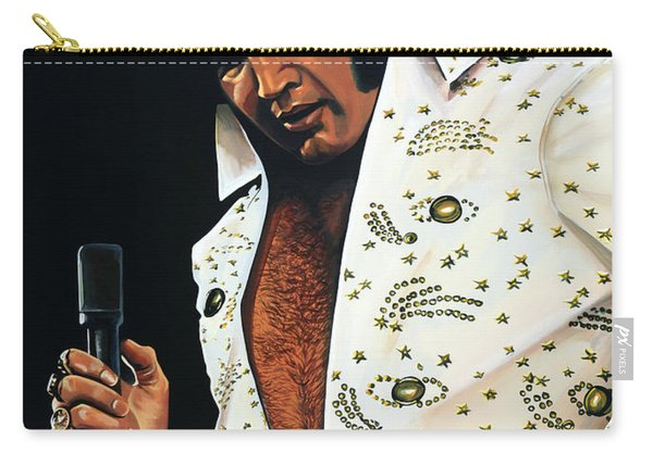 Elvis Presley Painting Carry-all Pouch