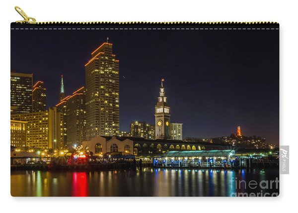 Embarcadero Blue Hour Carry-all Pouch