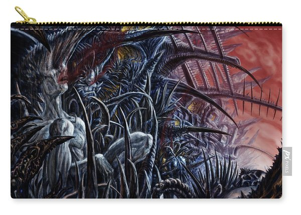 Embedded Into A World Of Pain Carry-all Pouch