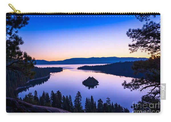 Emerald Bay Sunrise Carry-all Pouch