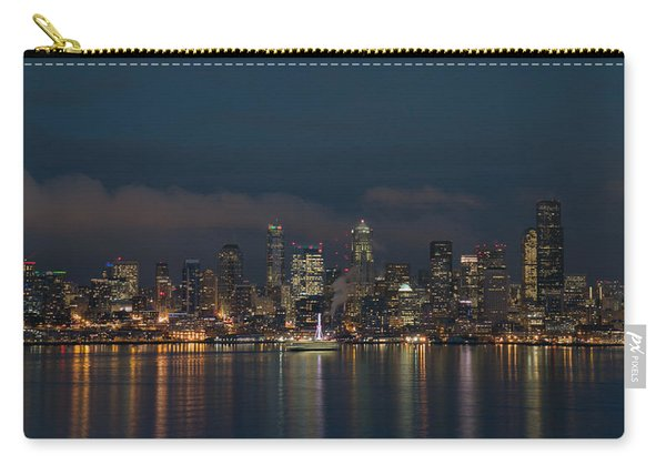 Emerald City At Night Carry-all Pouch