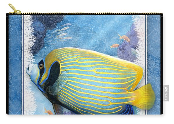Emperor Angelfish Carry-all Pouch