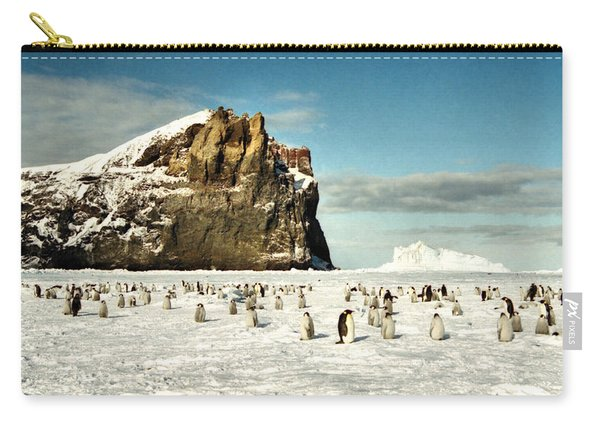 Emperor Penguin Colony Cape Washington Antarctica Carry-all Pouch