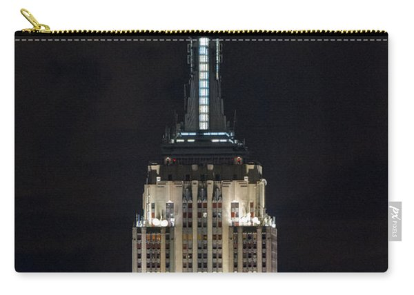 Empire State Building At Night Carry-all Pouch