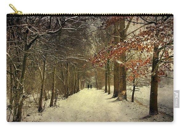 Enchanting Dutch Winter Landscape Carry-all Pouch