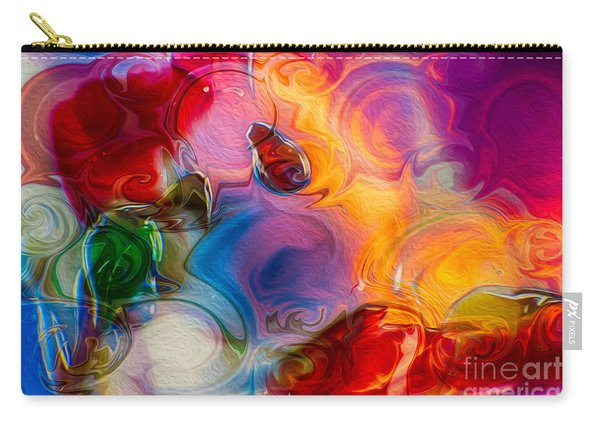 Enchanting Flames Carry-all Pouch