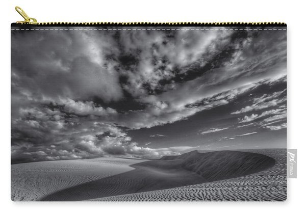 Endless Black And White Carry-all Pouch