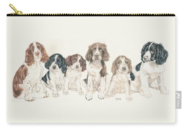 English Springer Spaniel Puppies Carry-all Pouch