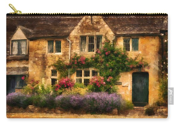 English Stone Cottage Carry-all Pouch