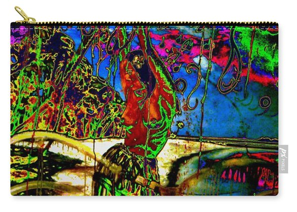 Enigmatic Attached To Dance And Colours Carry-all Pouch