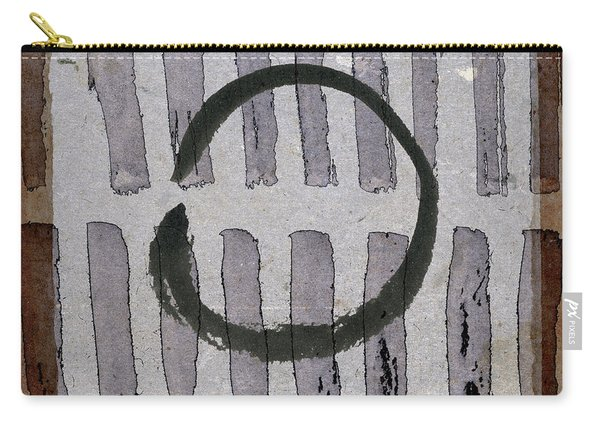 Enso Circle On Japanese Papers Carry-all Pouch