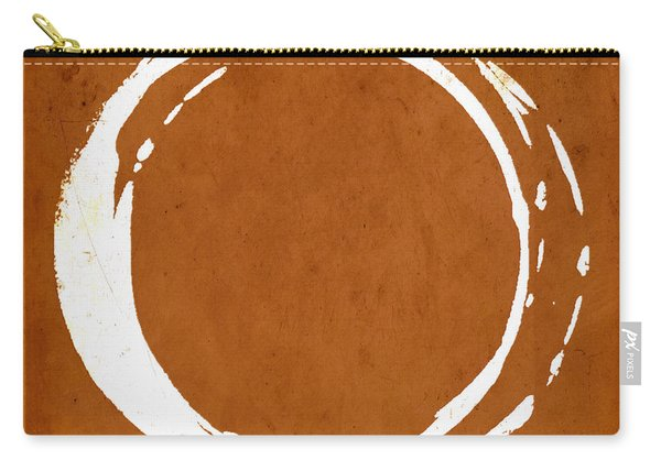 Enso No. 107 Orange Carry-all Pouch
