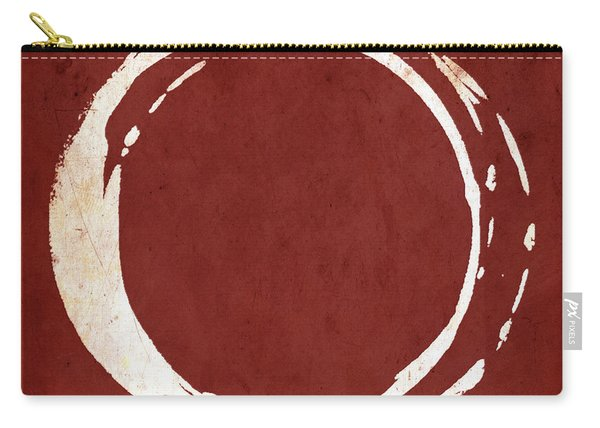 Enso No. 107 Red Carry-all Pouch
