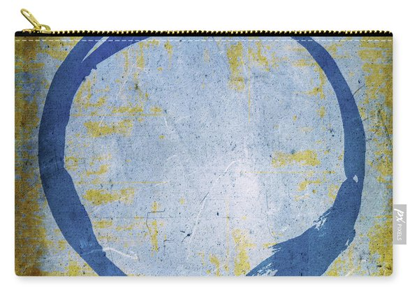 Enso No. 109 Blue On Blue Carry-all Pouch