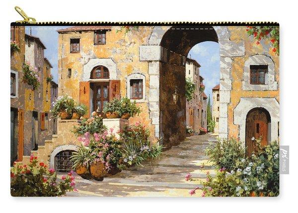 Entrata Al Borgo Carry-all Pouch