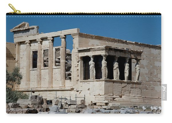 Erechtheion With The Porch Of Maidens Carry-all Pouch
