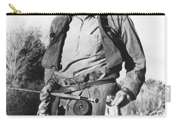 Ernest Hemingway Fishing Carry-all Pouch