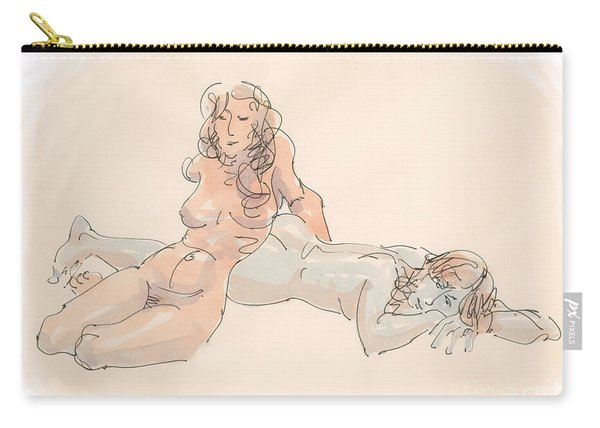Erotic Drawings 18 Carry-all Pouch