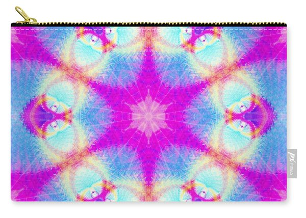 Carry-all Pouch featuring the digital art Essence Of Spirit by Derek Gedney