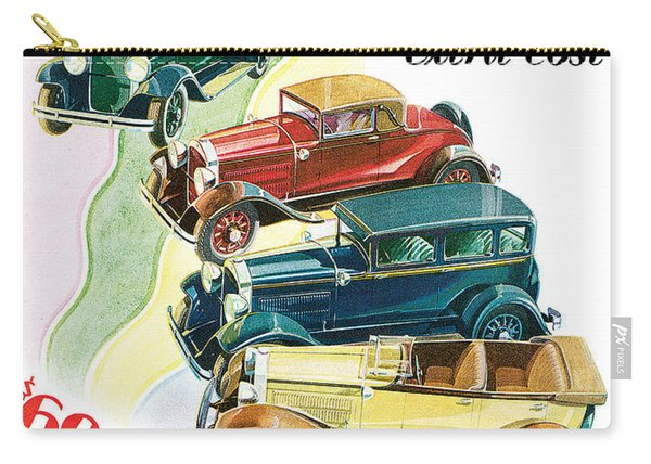 Essex Challenger Vintage Poster Carry-all Pouch
