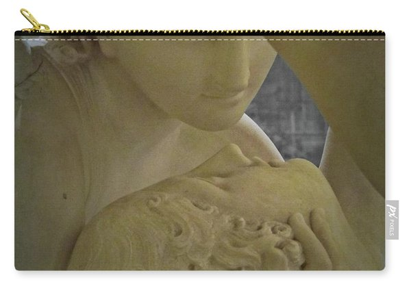 Eternal Love - Psyche Revived By Cupid's Kiss - Louvre - Paris Carry-all Pouch