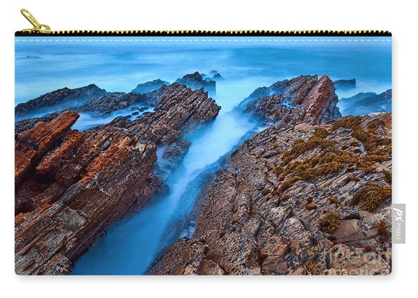 Eternal Tides - The Strange Jagged Rocks And Cliffs Of Montana De Oro State Park In California Carry-all Pouch