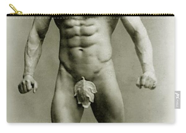 Eugen Sandow In Classical Ancient Greco Roman Pose Carry-all Pouch